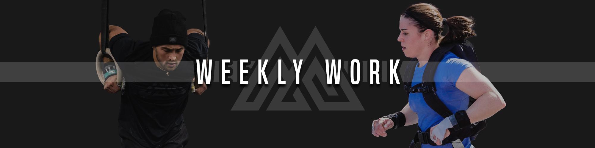Weekly Work Competition Block 1 Week 2